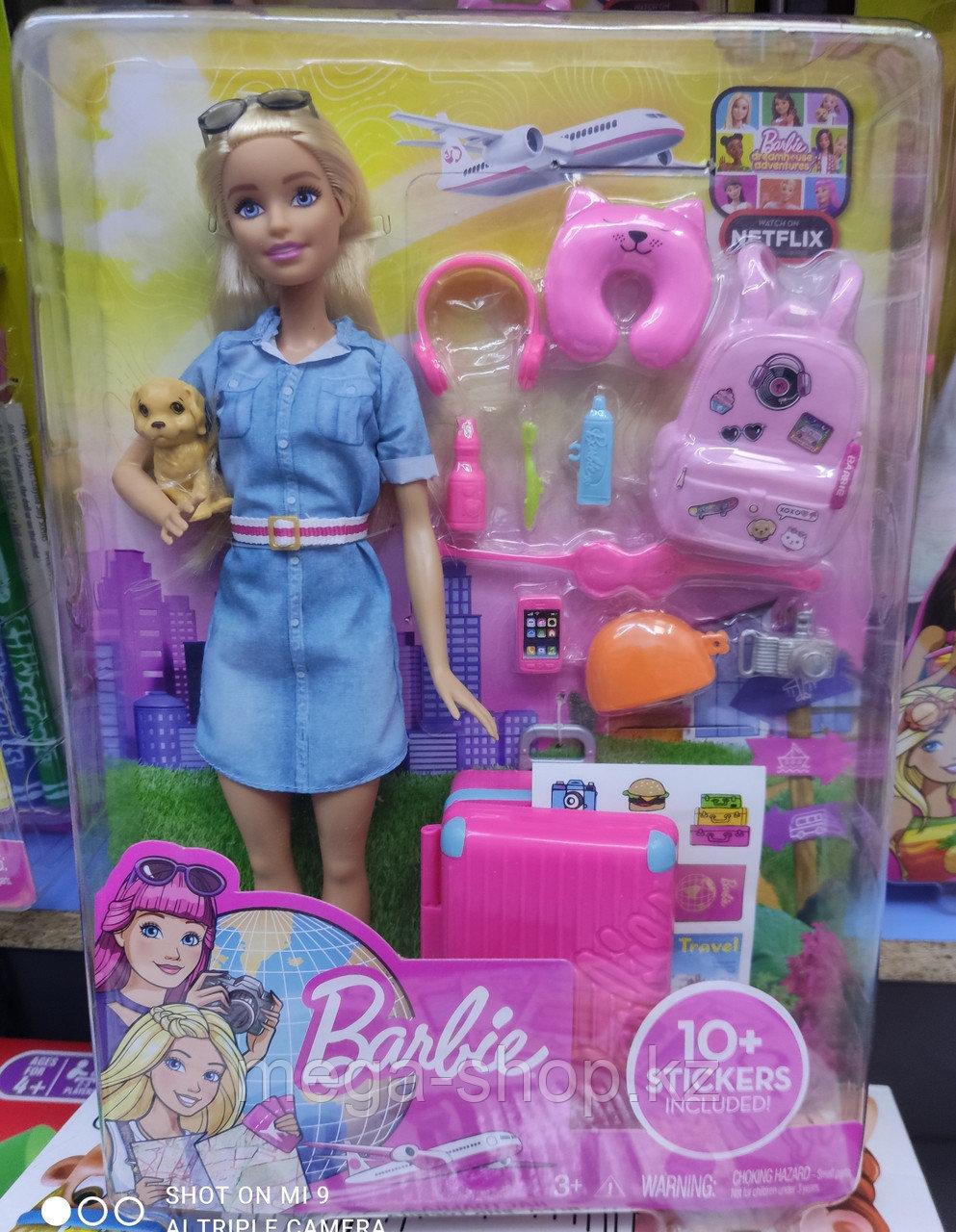 Mattel Barbie оригинал Барби Кукла из серии Путешествия - фото 4