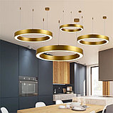 Светильники подвесные в стиле хай-тек 120х100х8 см, витражные люстры, люстры в стиле хай-тек, люстра, фото 2