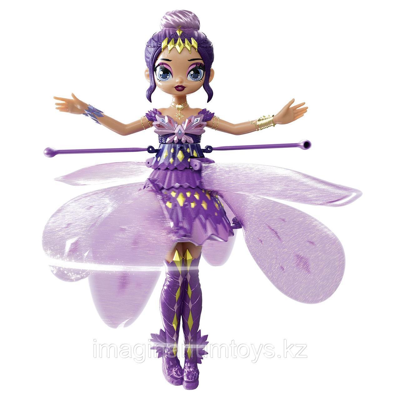Летающая кукла фея Hatchimals Пикси сиреневая