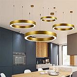 Светильники подвесные в стиле хай-тек 60х50х8см, витражные люстры, люстры в стиле хай-тек, люстра, фото 5