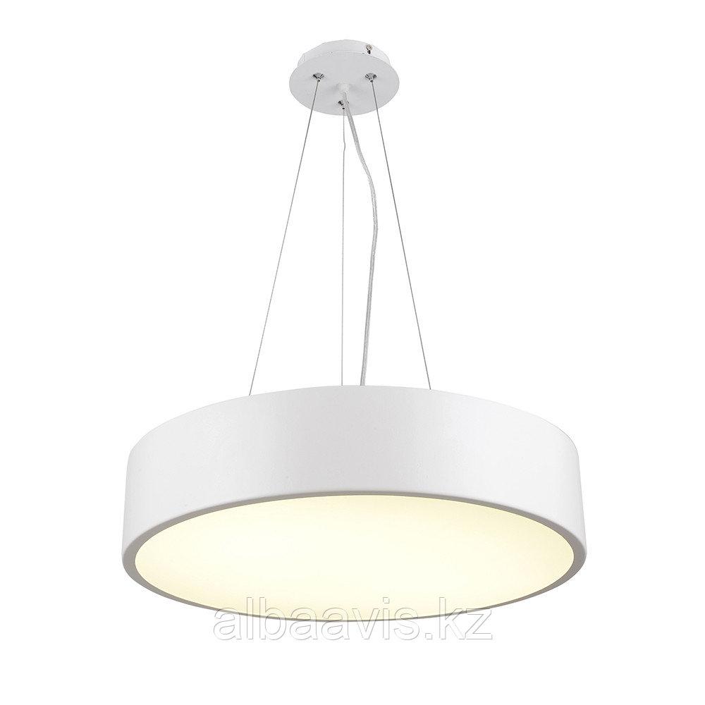Светильники подвесные в стиле хай-тек 40х8 см, витражные люстры, люстры в стиле хай-тек, люстра
