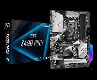 Материнская плата ASRock Z490 PRO4 LGA1200 4xDDR4 6xSATA RAID 2xUM.2 D-Sub HDMI ATX