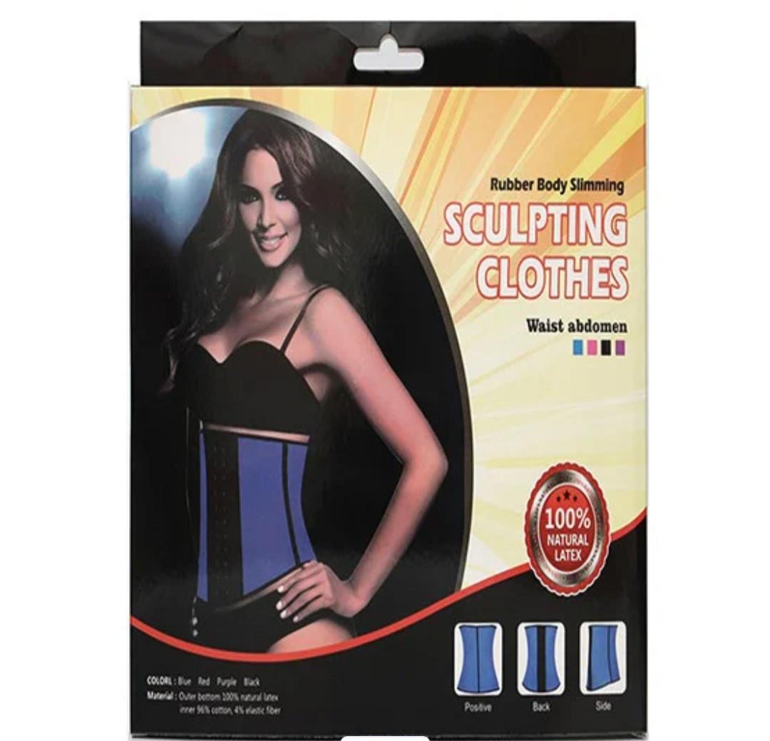 Корсет - Пояс для коррекции идеальной талии SCULPTING CLOTHES (фиолетовый )