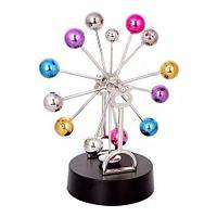 Маятник анти-стресс настольный Perpetuum Mobile «Летящие шары» (Колесо обозрения)