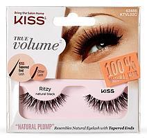 Kiss True Volume Накладные ресницы Lash Ritzy KTVL02C