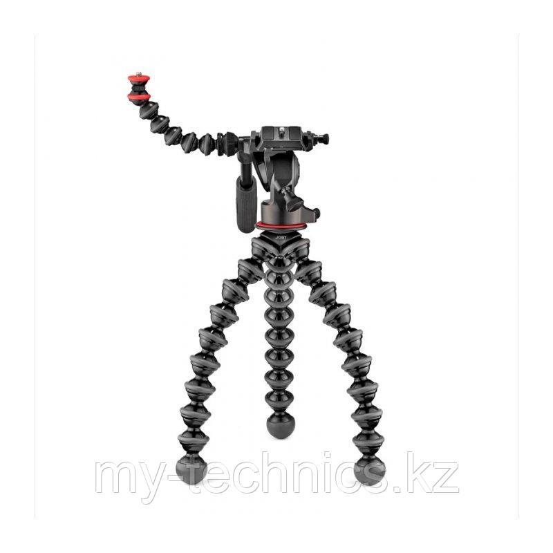 Штатив Joby GorillaPod 3K Video PRO с видео головой, черный/серый (JB01562-BWW)