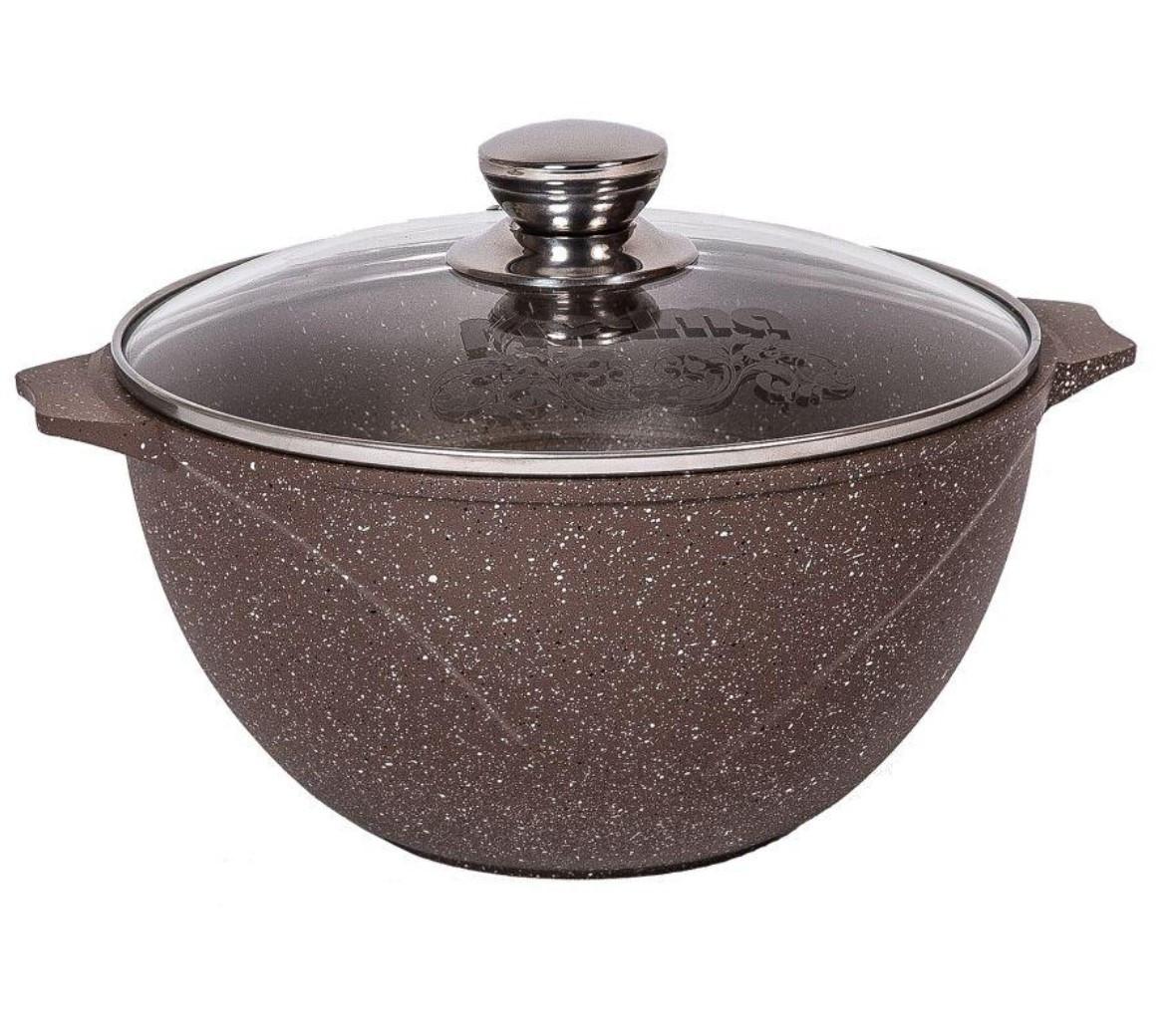 Казан для плова Мечта Granit Brown 6 литров
