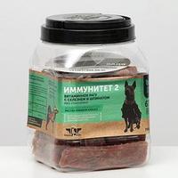 Лакомство Green Qzin 'Иммунитет 2' для собак, рагу с селезнем и шпинатом, 750 г