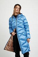 Пальто женское Finn Flare, цвет голубой (150), размер L