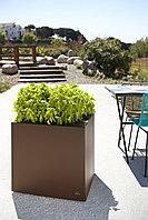 Кашпо с автополивом для растений из нержавеющей стали, Серия City Plus производитель HobbyFlower Spain