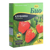 Удобрение сухое Фаско БИО Клубника гранулированное коробка, 1,2 кг