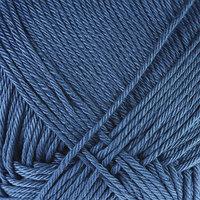 Пряжа 'Бонди' 100 мерсеризованный хлопок 270м/100гр (022 джинса)