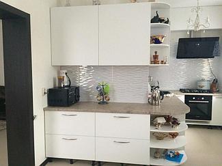 Белые кухонные гарнитуры 1