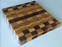 Кухонная доска торцевая из твердых пород дерева