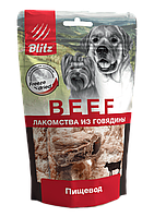 """BLITZ Лакомство сублимированное для собак """"ПИЩЕВОД"""", 32 г"""