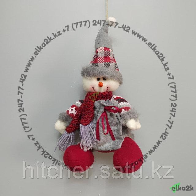 """Новогоднее украшение """"Снеговик"""""""