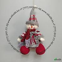 """Новогоднее украшение """"Снеговик"""" 30*20 см, фото 1"""