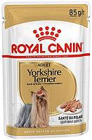 Royal Canin Yorkshire Terrier влажный корм для йоркширского терьера (паштет)