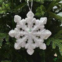 """Новогоднее украшение """"Снежинка"""" 20*20 см"""