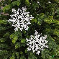 """Новогоднее украшение """"Снежинки""""  16*16 см"""