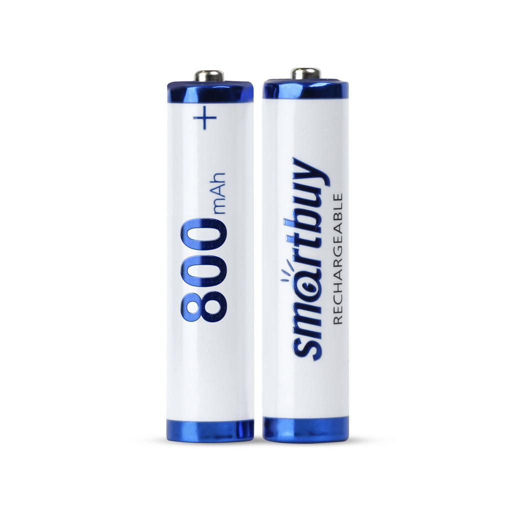 Аккумулятор NiMh Smartbuy AAA/2BL 800 mAh
