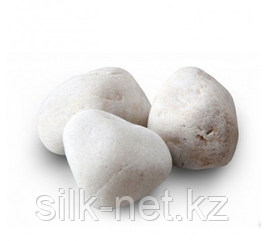 Камень для бани Кварц княжеский шлифованный (ведро – 10 кг)