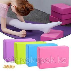 Блок, кирпич для занятий йогой и фитнесом