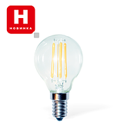 Светодиодная LED лампа Е14/ 4W, 6W Филаментная (Мощность: 4 Вт)