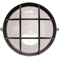 Светильник НПП 1302 60Вт E27 IP54 черный круг (Мощность, Вт: 60)