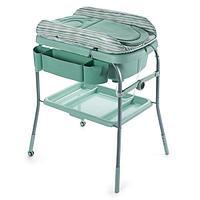 Столик для пеленания + ванночка Chicco Dusty Green