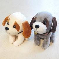 Мягкая игрушка Собачка с колокольчиком, в ассортименте