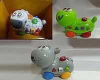 Музыкальная игрушка на батарейках (Китай), животные в ассортименте