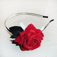 Ободок Пышная роза