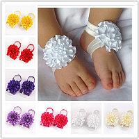 Набор резиночек на ножки для новорожденной