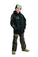 Куртка демисезонная Брайн, черная на рост 140см