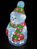 Фигура светодиодная уличная Снеговик 48 см