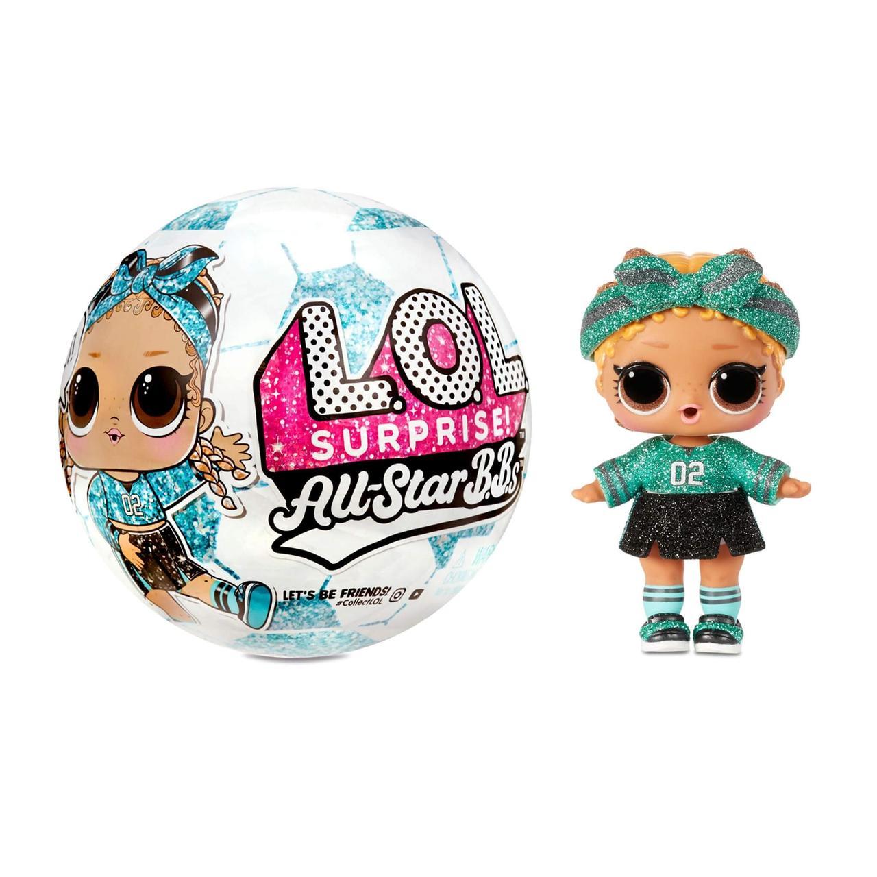 Кукла Лол Футбольная команда -LOL Surprise All-Star B.B.s Sports Series - фото 3
