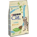 Cat Chow Kitten, для котят, индейка, уп.1,5 кг