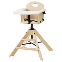 Детский/высокий ГРОВАЛЬ, стул+столешницей, береза ИКЕА, IKEA