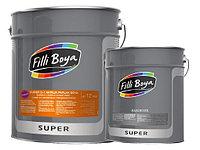 15 КРАСКА АКРИЛОВАЯ ПОЛУМАТОВАЯ 40% -16,5кг - 15 кг краска + 1,5 кг отвердитель