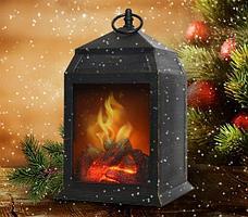 Фонарь-ночник с эффектом живого огня «Уют камина» Ликвидация зимних товаров!, фото 2