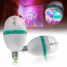 Светодиодная вращающаяся диско лампа Ликвидация зимних товаров!, фото 2