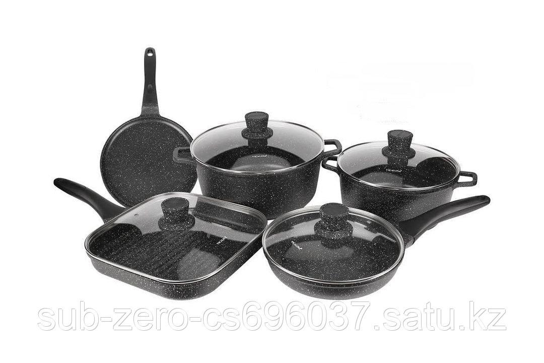 Набор антипригарной посуды Vicalina 9 предметов