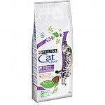 Cat Chow Hairball Control для выведения комков шерсти, индейка