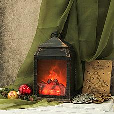 Фонарь-ночник с эффектом живого огня «Уют камина» Ликвидация зимних товаров!, фото 3