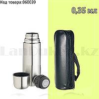 Термос для чая High Grade Vacuum Flask 0,35 L с чехлом
