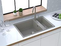 Кухонная мойка GranFest GF-LV-760K