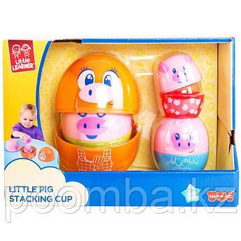 Развивающая игрушка- Мама-хрюшка матрешка