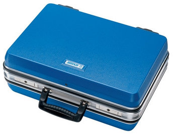Чемодан инструментальный, синий, с замком - 970U3 UNIOR