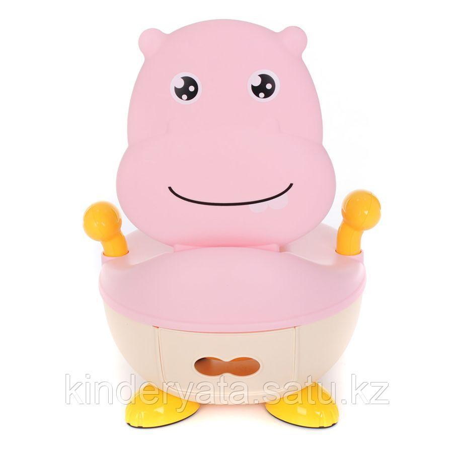 PITUSO Детский горшок БЕГЕМОТИК Розовый PINK 37*36*24,5 см
